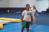 Summer Camp Fun on Gym Pads