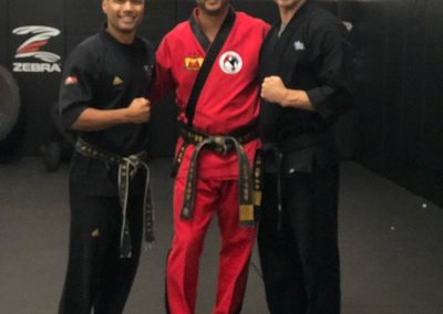 6th Dan Pretest for Tae Kwon Do at Longo and Weidman MMA with Master Eric San Jose