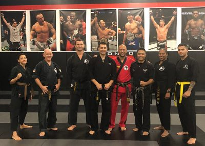 6th Dan Test with Grand Master Kang at Tribeca, New York