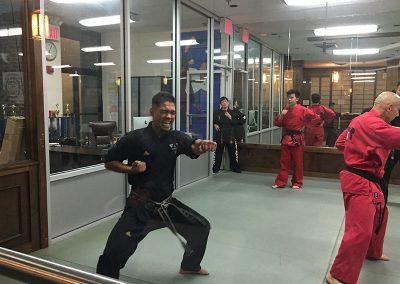 6th Dan Test with Grand Master Kang at Tribeca, New York