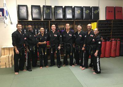 Taekwondo Black Belt 6th Dan