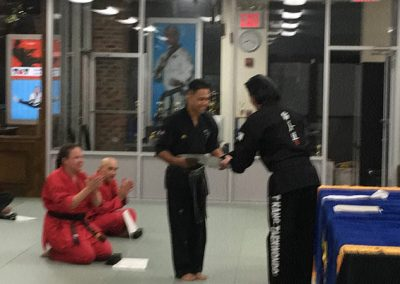Taekwondo Black Belt 6th Dan