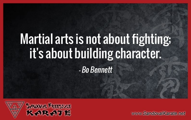 Bo Bennett Martial Arts Quote