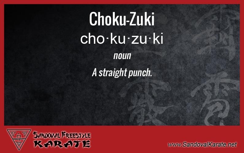Choku-Zuki