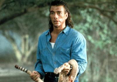 Jean-Claude Van Damme as Chance Boudreaux in Hard Target (1993)