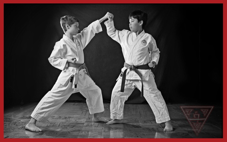 4 Karate Blocks – Inward, Outward, Upper & Lower Block