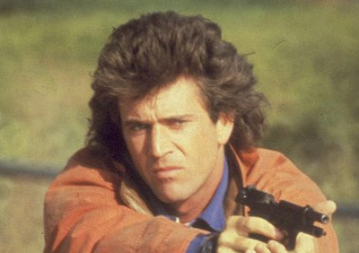 Mel Gibson as Martin Riggs in Lethal Weapon (1987)