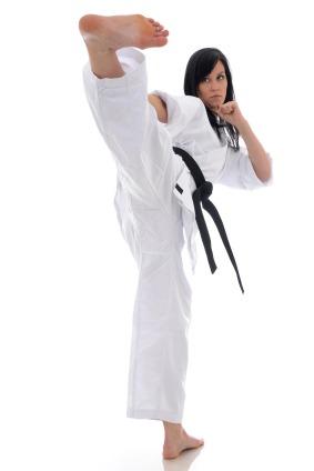 How to Throw a Karate Side Kick